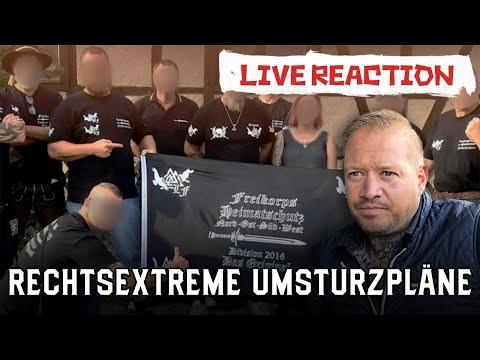 Rechtsextreme Umsturzpläne - Reichstag mit Waffen stürmen - LIVE