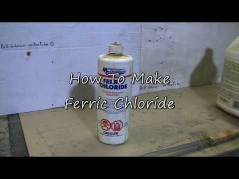 How To Make Ferric Chloride For Etching