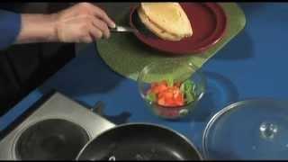 Grilled Hot Turkey Sandwich With Garden Green Salad