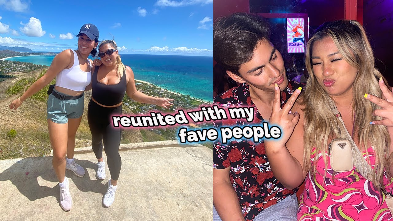 hiking with ava jules + reunited with old friends!!
