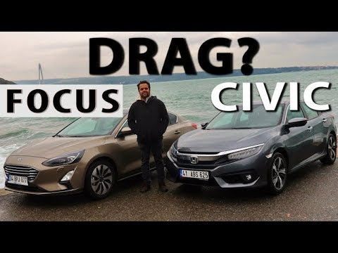 Ford Focus Vs Honda Civic - Hangisi? (DRAG Içerir)
