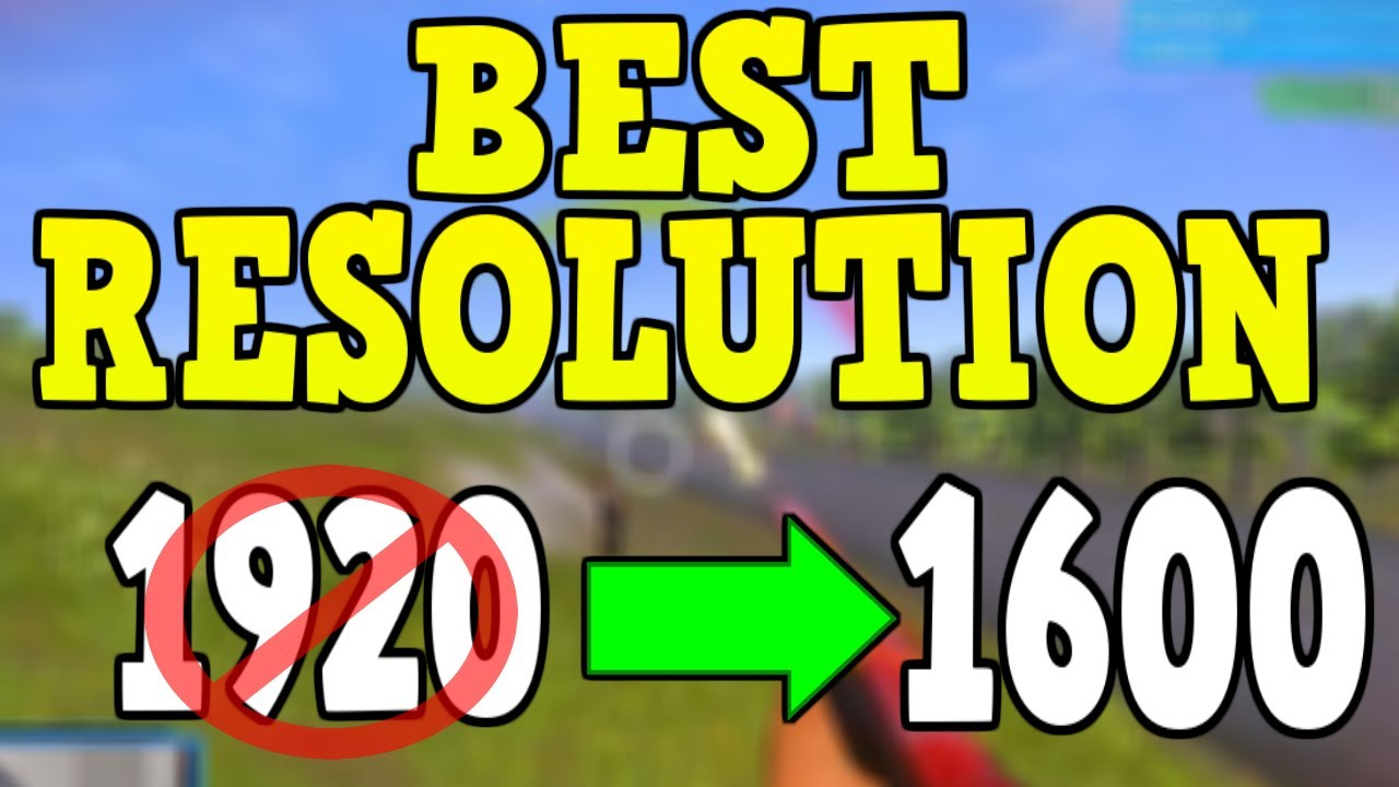 how to change h1z1 resolution