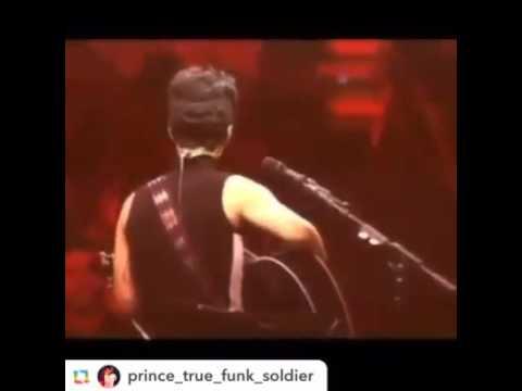 Prince cries