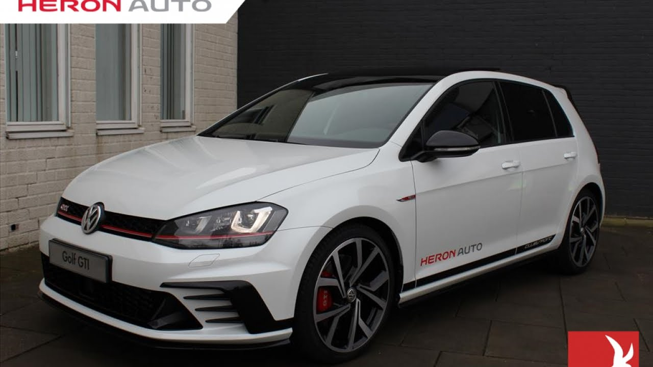 volkswagen golf gti clubsport 265 pk dsg 5 drs oryx. Black Bedroom Furniture Sets. Home Design Ideas
