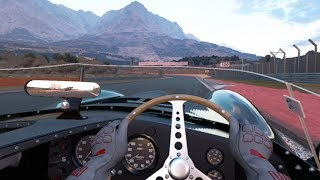 Gran Turismo Sport VR - Jaguar D-type '54 Gameplay