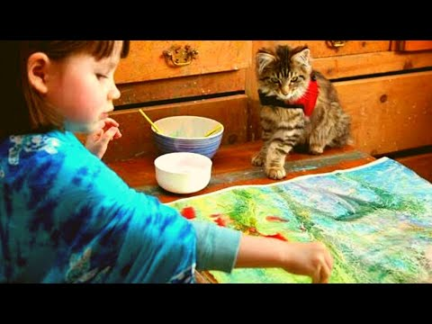 This Little Girl's Autism Was So Severe She Didn't Even Speak  Then She Let This Cat Into Her World