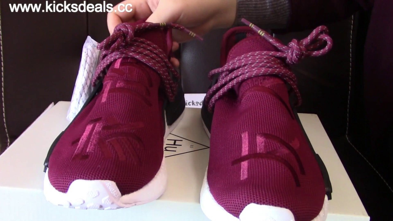 100297778 Pharrell x Adidas NMD Human Race Friends and Family Review Kicksdeals