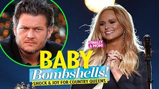 Miranda Lambert's baby is sure to be born in 2021! Blake Shelton didn't expect that announcement