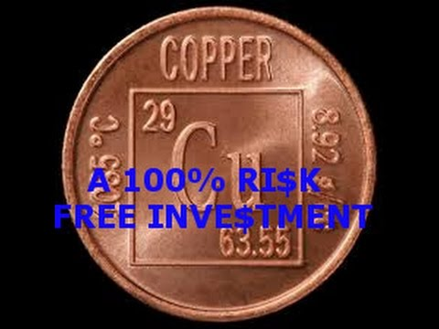 INVESTING IN COPPER 101 - 100% RISK FREE, HOW TO HEDGE AGAINST INFLATION BY HOARDING PENNIES