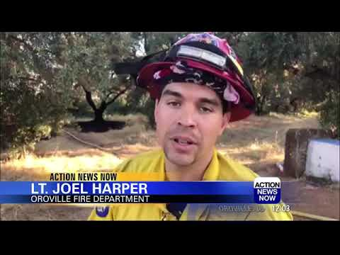Oroville orchard fire