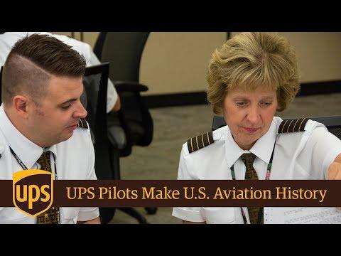 UPS Pilots Make U.S. Aviation History