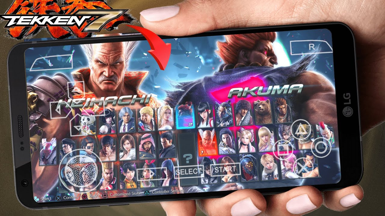 Tekken 7 For Android ISO PPSSPP Highly Compressed Download