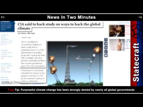 News In Two Minutes - Weather Wars - Anthrax In Tajikistan - US Syrian War - Prepper Survival News