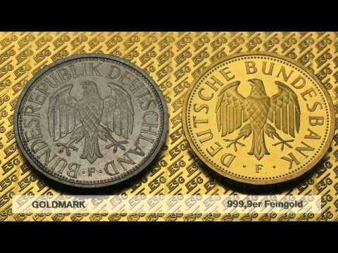 Goldmark Goldmünze (Deutsche Mark in Gold)