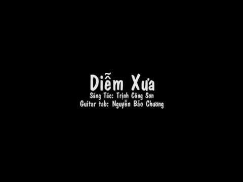 Diễm Xưa - Guitar Tab - Nguyễn Bảo Chương