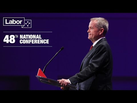 Bill Shorten - A Fair Go For Australia