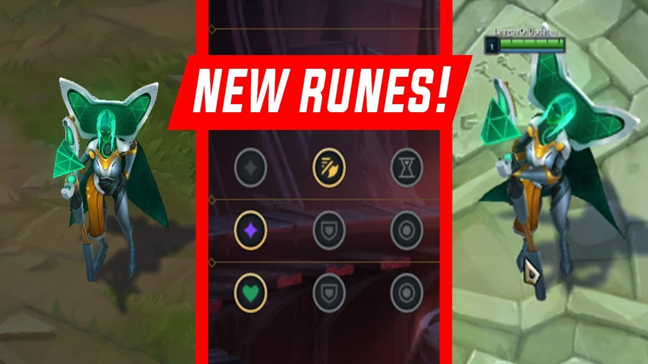 Testing Program Leblanc With The New Preseason 2019 Runes League