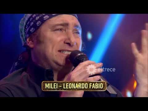 Imperdible: Javier Milei imitando al peronista Leonardo Favio
