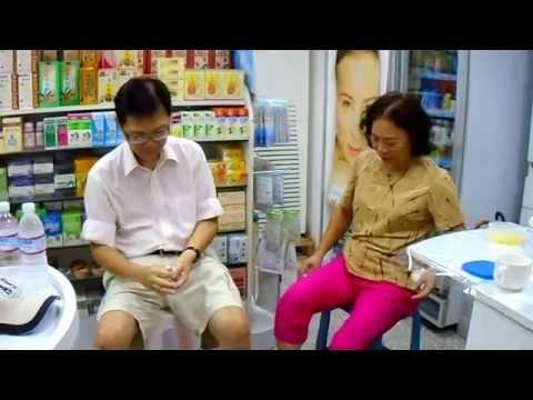 大腿痛、膝痛、肩痛、脚底腱膜炎痛,谈笑中空手瞬間止痛(5) Instant healing Taipei 2014