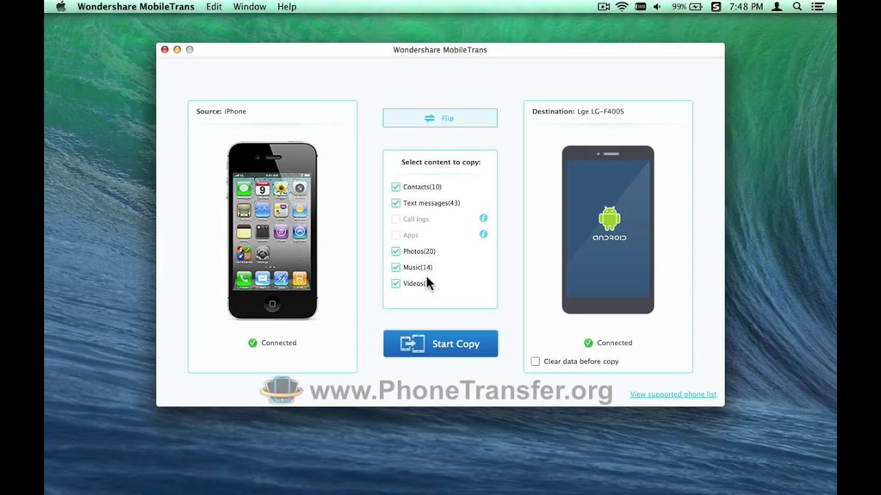 how to find mac address on iphone 5c