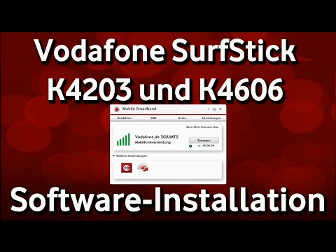 Vodafone SurfStick K4203 und K4606 - Software-Installation