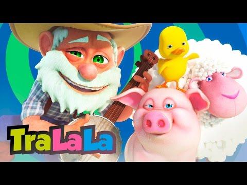 Bunicul meu o fermă avea (Old MacDonald Had a Farm în română) - Cântece pentru copii | TraLaLa