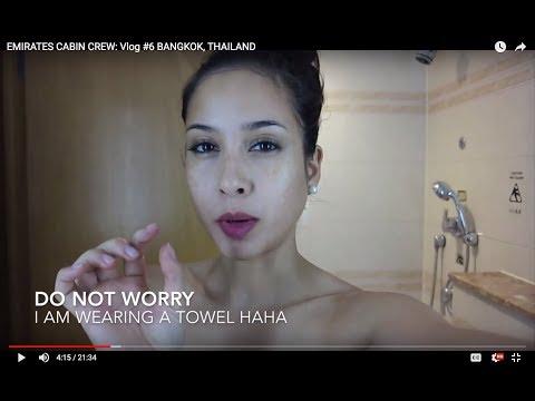 EMIRATES CABIN CREW: LAYOVER LIFE: BANGKOK, THAILAND
