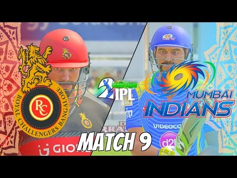IPL GAMING SERIES 2nd EDITION - ROYAL CHALLENGERS BANGALORE v MUMBAI INDIANS  GROUP 1 MATCH 9