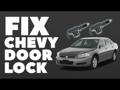 hqdefault universal door lock actuator in chevy impala $8 fix youtube  at webbmarketing.co