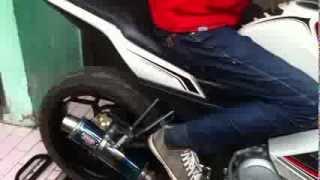 Uji Top Speed New Vixion Lightning Bandung