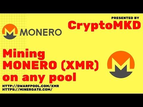 How to mine Monero XMR on any pool