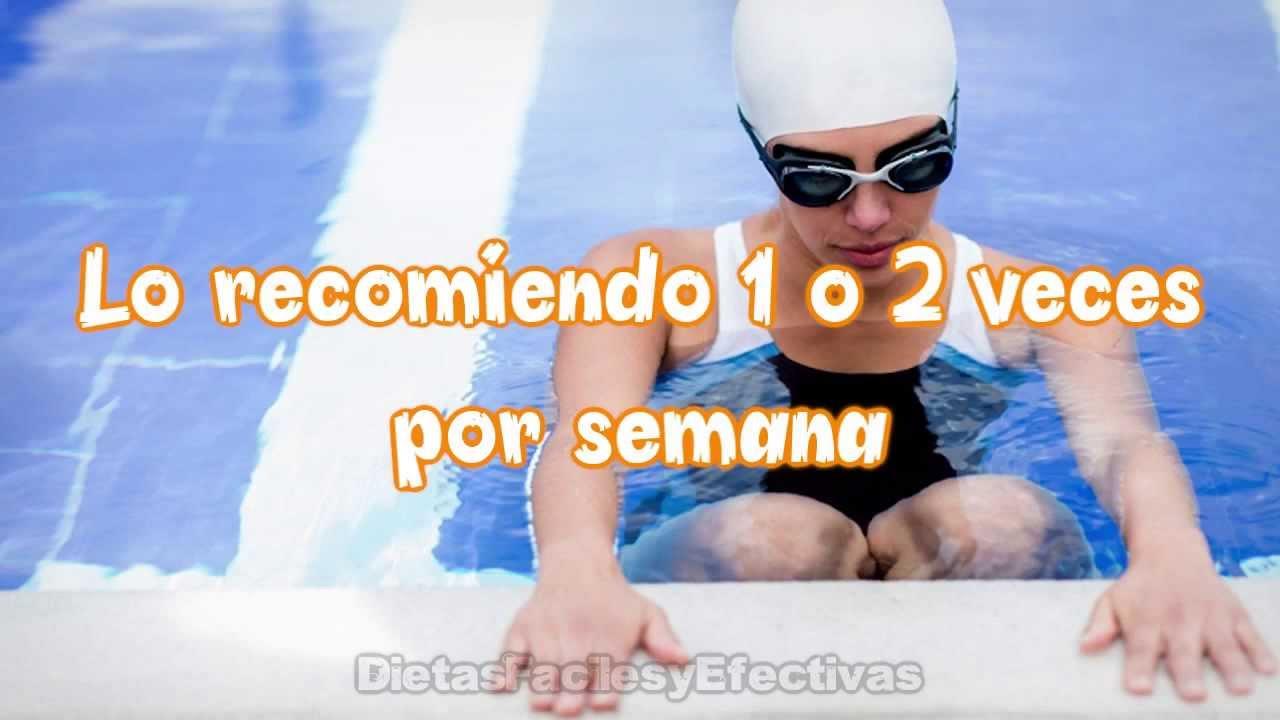 Plan de entrenamiento de natacion para quemar grasa