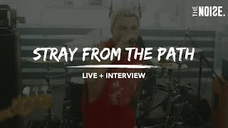 """Stray From The Path - """"Kickback"""" featuring Brendan Murphy [Live + Interview]"""