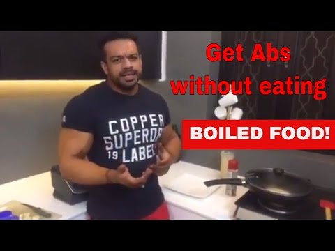 get-abs-without-eating-boiled/-diet-food.