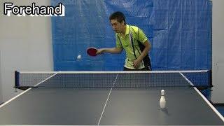 Ping Pong Hitting Collection (卓球打ち方&サーブ集  English Ver.) thumbnail