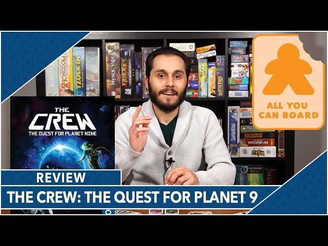The Crew: The Quest for Planet 9: Review by AYCB (2020 Kennerspiel des Jahres Nominee)