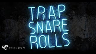 Trap Snare Rolls, Trap samples and drum loops