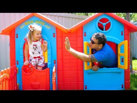 Nastya E Pai, Vídeo De Tour Em Casa Para Crianças