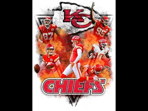 Photoshop Sports Players Football High School College NFL Chiefs fire flame smoke Tutorial How to