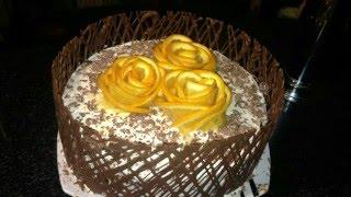 шоколадный торт на кипятке.Как сделать шоколенту на тортКак и чем разрезать торт