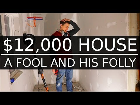 $12,000 CASH HOUSE - Drywall Finale, Inspections, a Fool - #45