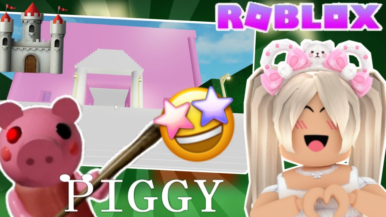 Easy Pink Castle Map! | ROBLOX Piggy