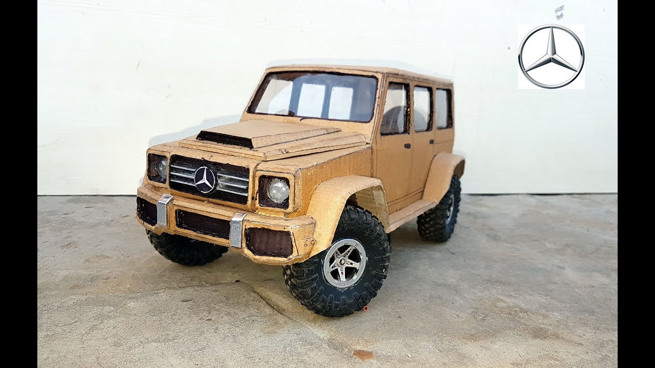 Super Mercedes G Wagon Amg How To Make Car With Cardboard Diy Electric Toy