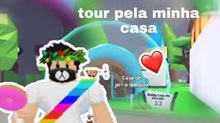 Tour my home in the Adopt me and opening Egg King (ROBLOX)