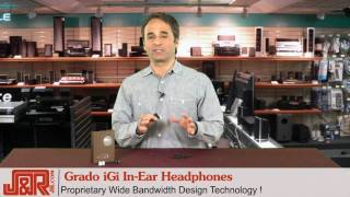Review - Grado iGi In-Ear Headphones - JR.com