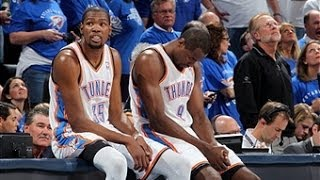 Repeat youtube video Kevin Durant and Serge Ibaka Combine to Blowout the Nets
