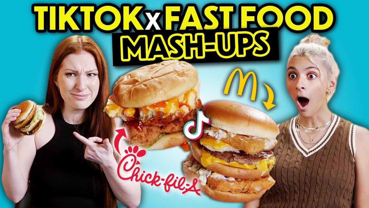 Adults Try Viral TikTok Fast Food Hacks