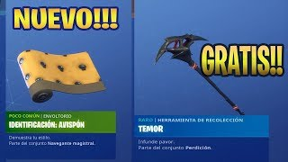 HOW TO GET NEW PICO AND FREE CAMOUFLAGE!!! FORTNITE NOVEDADNAVEGANTE MAGISTRAL