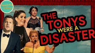 The Tonys were a DISASTER
