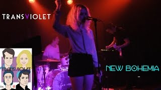 "Transviolet ""New Bohemia""  Live Performance at The Satellite April 25, 2016"